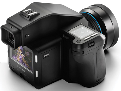 Phase One A-series IQ3 100MP medium format camera system