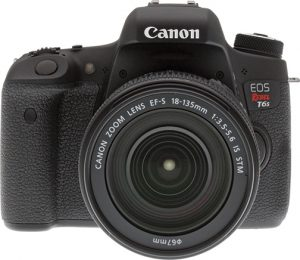 Canon-Rebel-T6s-front