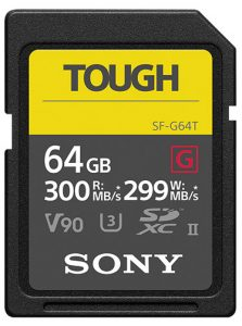 Sony-Tough-sd-64GB