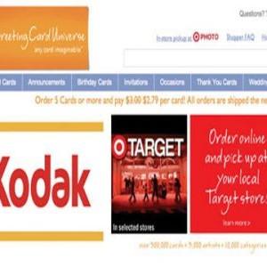 Kodak Greeting Card Universal Offer Target Customers Same Day