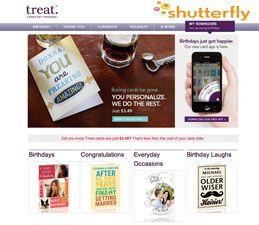 Shutterflys Treat Birthday Card IPhone App Creates And Sends