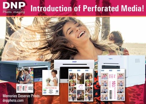Dnp Perforated Media For Photo Printers Digital Imaging Reporter