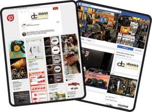 Pinterest-Facebook