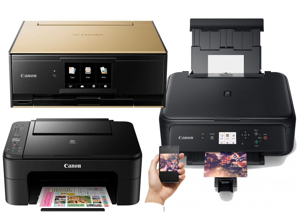 Canon Pixma TS-Series Wireless AiO Printers - Digital