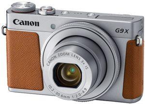 Canon-PowerShot-G9-X-Mark-II-brown-left