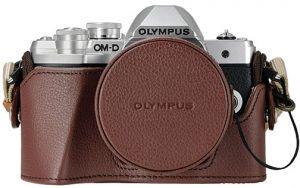 Olympus-OM-D-E-M10-Mark-III-w-jacket-lens-cover