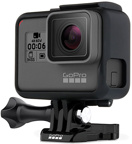 GoPro Hero6 Action Cam & Fusion Spherical Camera Launch