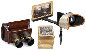 Stereoscopic-Slide-Viewers,-circa-1870