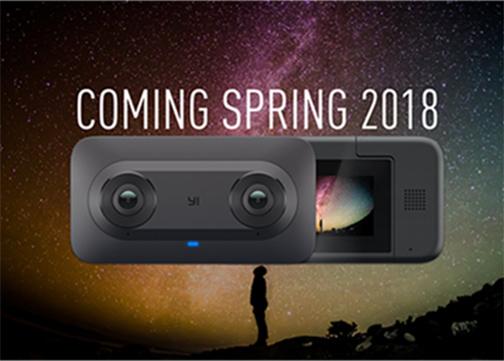 YI Technology and Google Unveil YI Horizon VR180 Camera