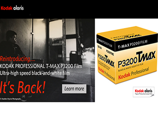 Kodak Professional T-MAX P3200 TMZ Film Is Back - Digital