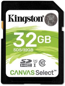 Kingston-Canvas-Select-SDHC-32GB-