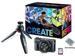 Canon-PowerShot-G7-X-Mark-II-video-Creator-kit