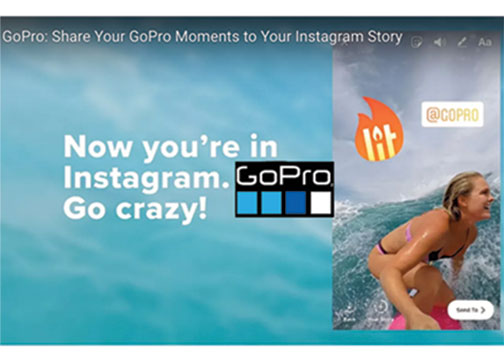 GoPro App Sharing Feature Moves Content Straight to