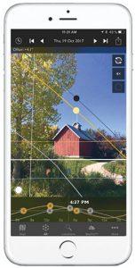 Photographers-Ephemeris-app-in-phone