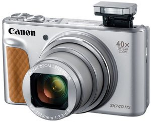 Canon-PowerShot-SX740-HS-silver-flash