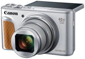 Canon-PowerShot-SX740-HS-silver-flip-lcd