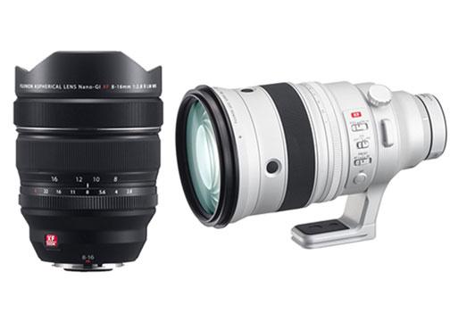 Fujifilm Adds Fujinon XF8-16mm f/2 8 R LM WR & XF200mm f/2 R LM OIS
