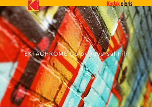 A Classic Is Back: Kodak Ektachrome Color Reversal Film Now