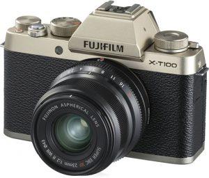 Fujifilm-X-T100-gold