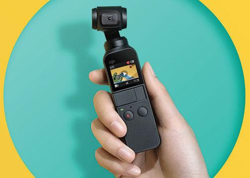DJI-Osmo-Pocket-on