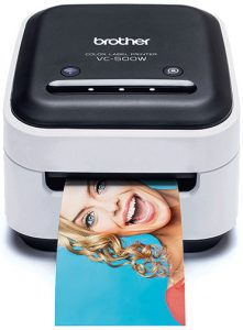 Brother VC500W printer with Zink Tech