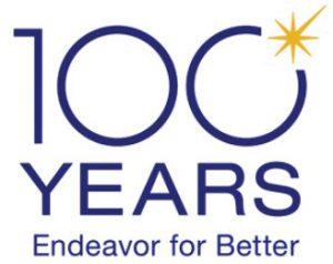 Olympus 10o year Logo