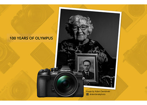 Olympus-100-Yrs-Banner