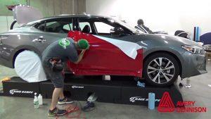 Avery Dennison business boot camp car-warp