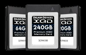 Delkin 2933x Premium XQD Cards