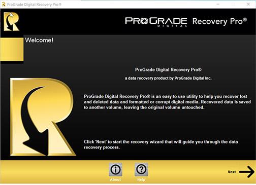 ProGrade-Recovery-Pro-Intro-Screen