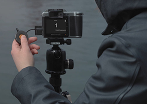 Hasselblad Adds Release Cord X & Battery Charging Hub to X System