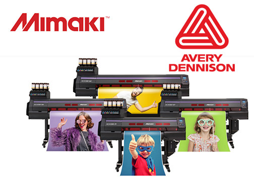 Mimaki USA Teams with Avery Dennison on Marketing Program - Digital