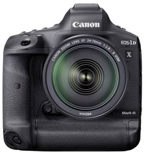 2020 wedding photography productCanon-EOS-1D-X-Mark-III-Front-w-EF-24-70mm-f2.8L