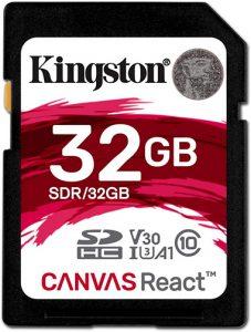 canvas plus Kingston-Canvas-React-Plus-32GB
